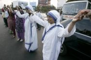 Missionaries of Charity Superior General Sister Nirmala, in ...