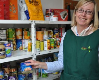 clerical whispers no sign of recovery for poorest says foodbank