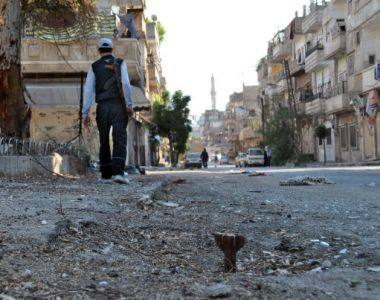 Fighting in Syria has been heavy in the city of Homs