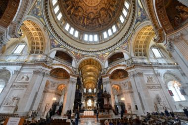 St Paul's Cathedral general view