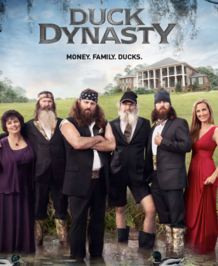 Duck Dynasty's season three finale broke the network's ratings and