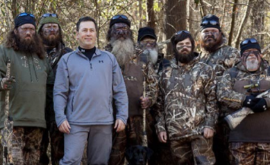 Beardless Duck Dynasty brother: Pastor Alan Robertson to help spread