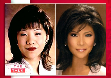 Julie Chen revealed that she had plastic surgery on her eyes to make