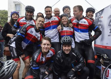The A21 cycle team