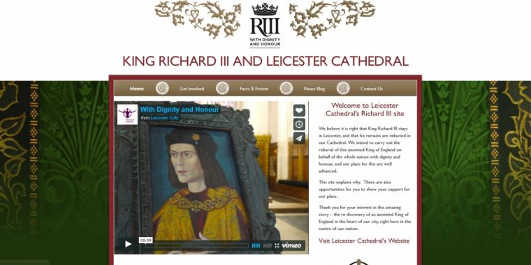 Leicester Cathedral King Richard