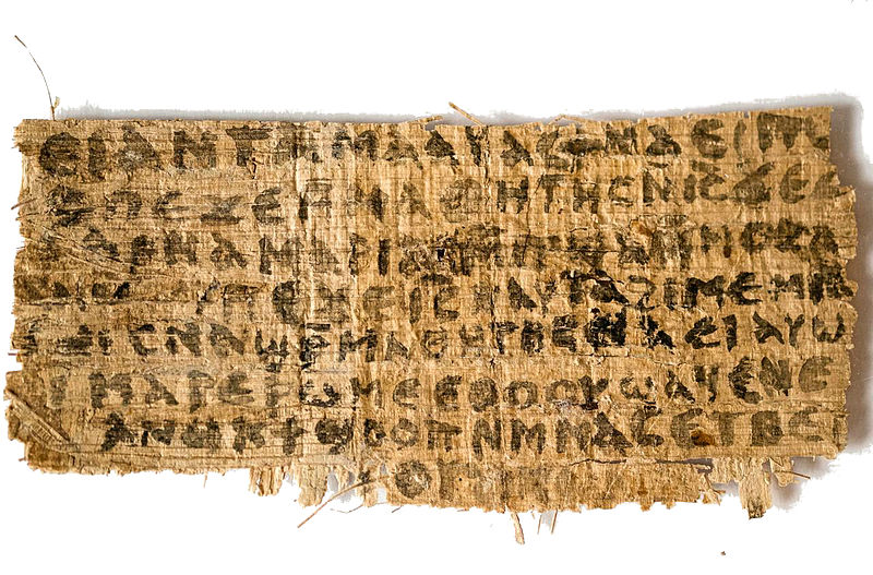 'Gospel of Jesus' Wife' not a forgery, claim scientists, while Vatican says it is fake