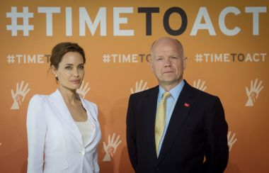Angelina Jolie William Hague