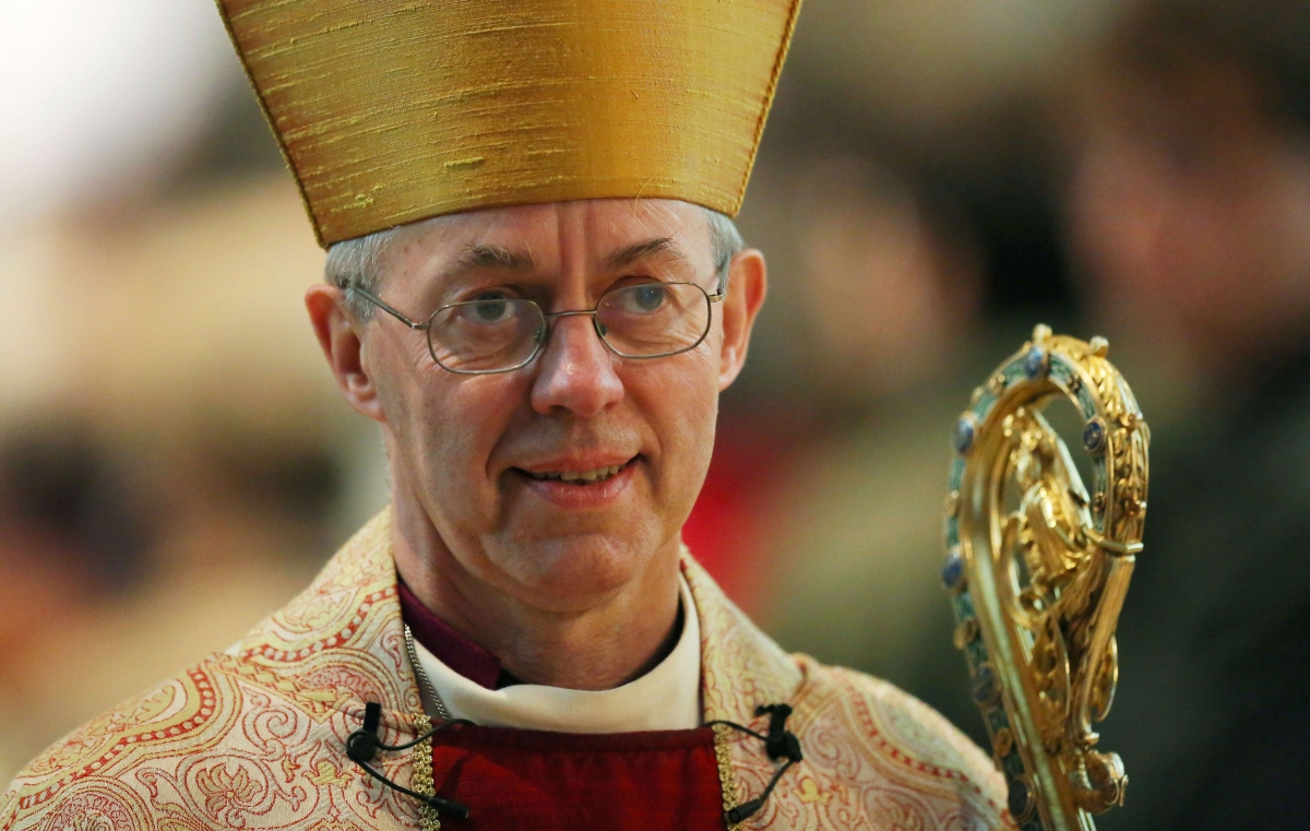 Justin Welby The young nuns Justin Welby invites young people to live