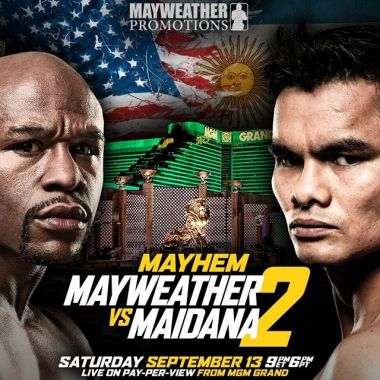 Mayweather vs Maidana II Live Stream Fight on Sept. 13