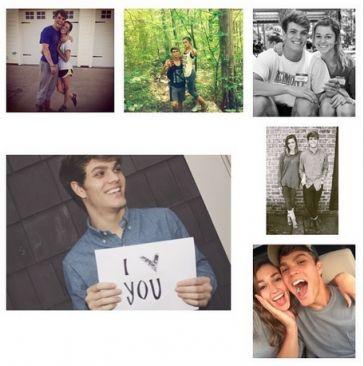 Blake Coward and Sadie Robertson