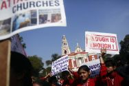 delhi-church-attack-protest
