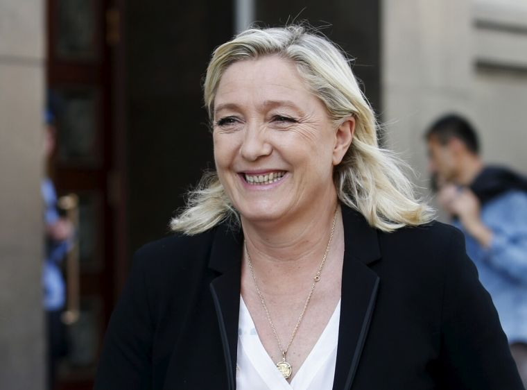National Leaders Images French National Front Leader