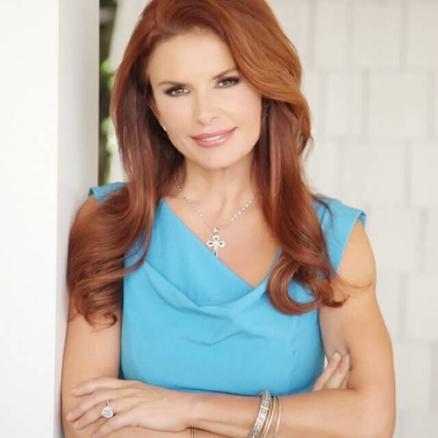 Roma Downey on today show