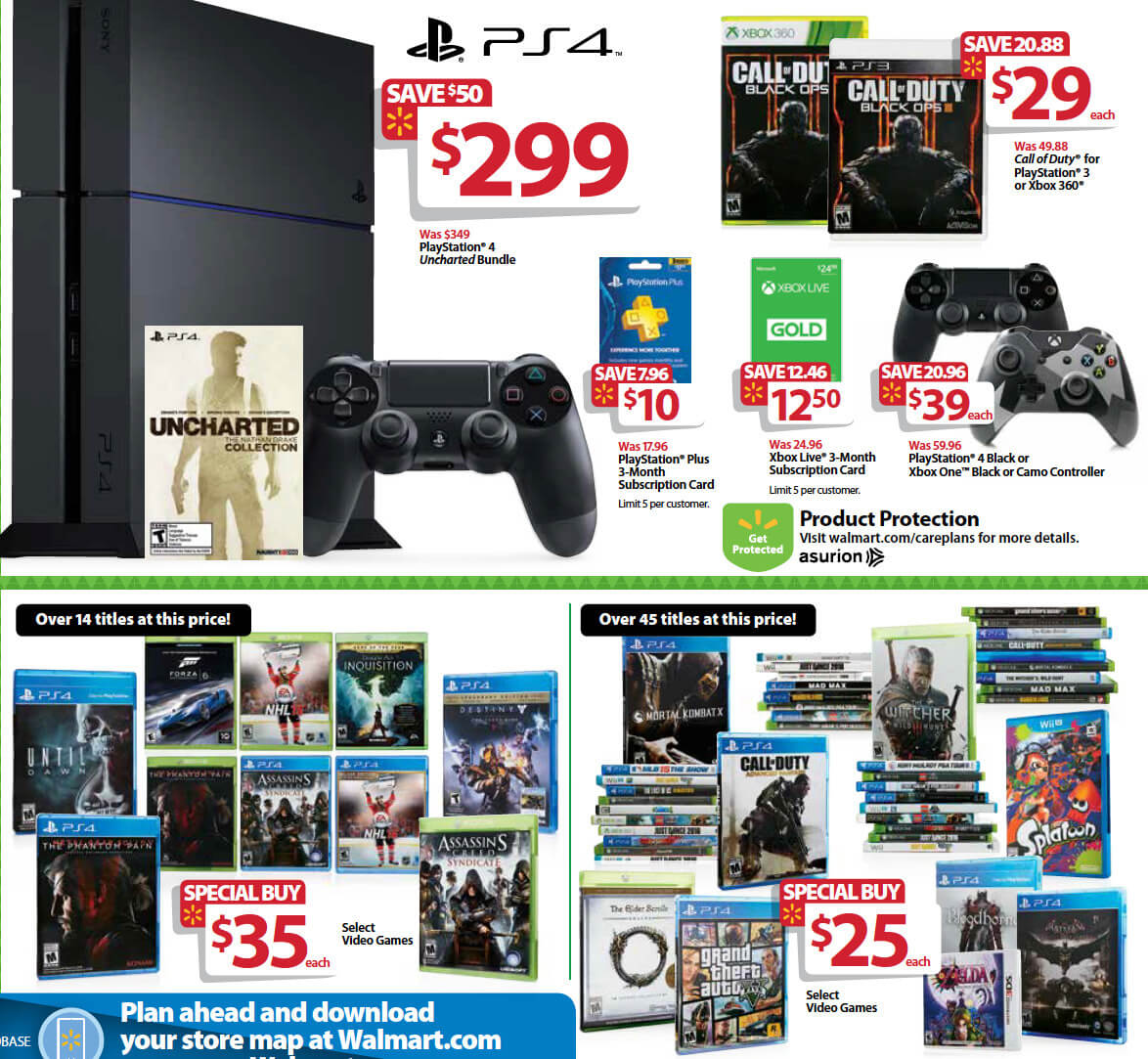 Black Friday: Best Wii U, 3DS, Xbox One, and PS4 Deals