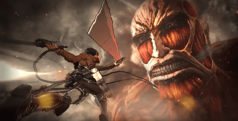 "Attack On Titan"" video game releases new trailer 