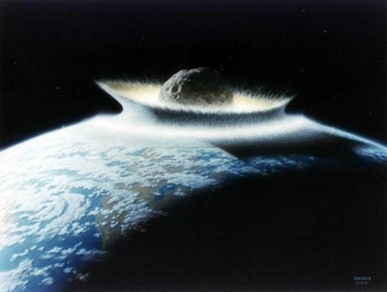 Giant asteroid could hit and destroy Earth on April 13 ...