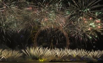 London Eye New Year's 2016 Fireworks live stream free, best viewing ...