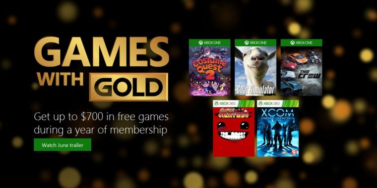 2 free games with xbox live gold list