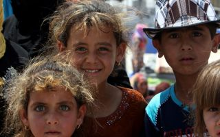 refugee-children-from-mosul