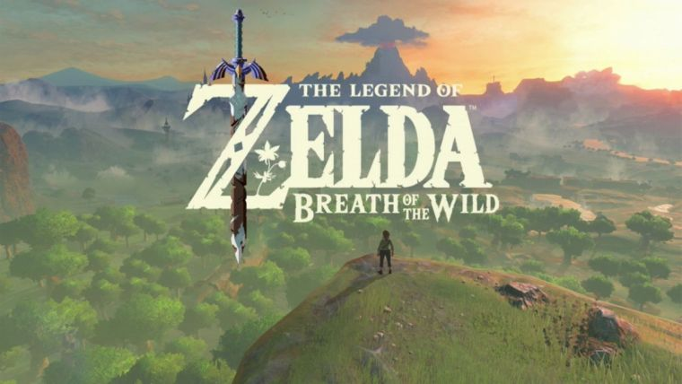 Resultado de imagem para Legend Of Zelda: Breath Of The Wild - Wii