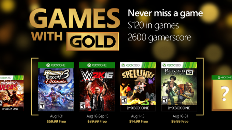 games in 2016 xbox one list