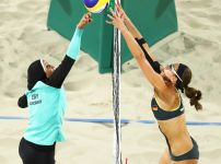 doaa-elghobashy-of-egypt-and-kira-walkenhorst-of-germany-compete-in-beach-volleyball-at-the-rio-olympics