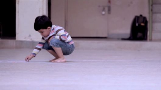 what-a-small-boy-draws-on-the-ground-will-leave-you-speechless