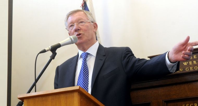Soccer legend Sir Alex Ferguson backs the Boys' Brigade's latest recruitment campaign, One For All.