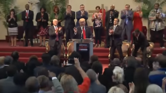 donald-trump-full-speech-at-cleveland-heights-church-standing-ovation-for-pledge-to-defend-freedom-of-christians-and-removal-of-johnson-amendment
