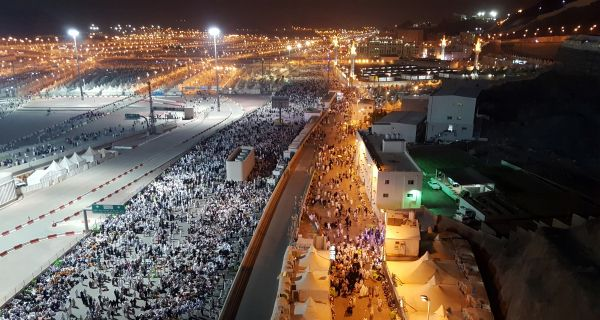 muslim-pilgrims-walk-on-roads-as-they-head-to-cast-stones-at-pillars-symbolizing-satan-during-the-annual-haj-pilgrimage-in-mina-earlier-this-month-churches-are-banned-in-saudi-arabial