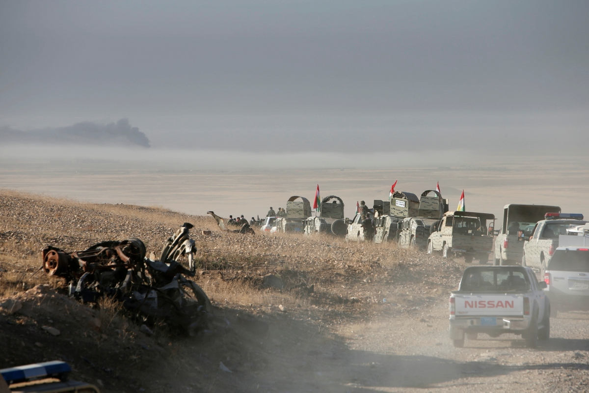 Turkish president vows to join Mosul operation