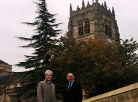 jerry-lepine-dean-of-bradford-with-communities-minister-lord-bourne-at-bradford-cathedral