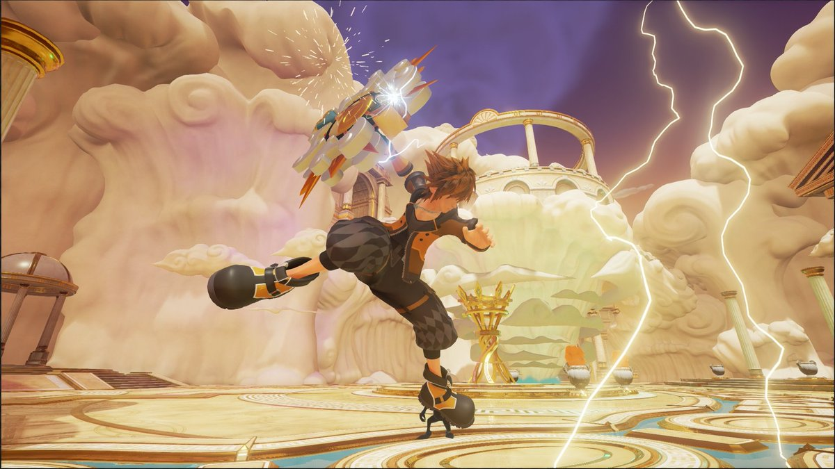 Kingdom Hearts III gets new screenshots showing off Sora's Guard Form