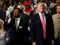 trump-in-detroit-church