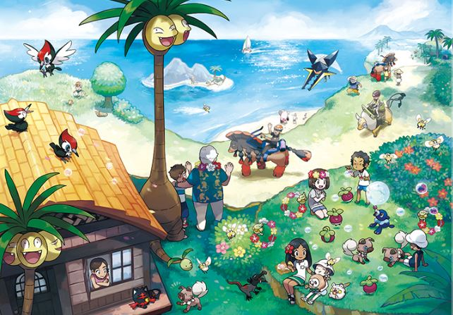 Pokémon Sun and Moon Becomes Nintendo's Best-Selling Launch in the UK Ever