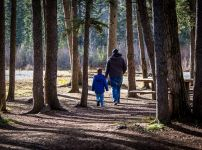 father-and-son-in-the-woods