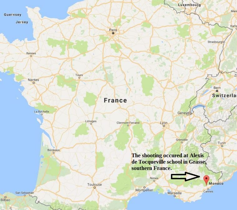 France Issues Terror Warning As Eight Injured In School