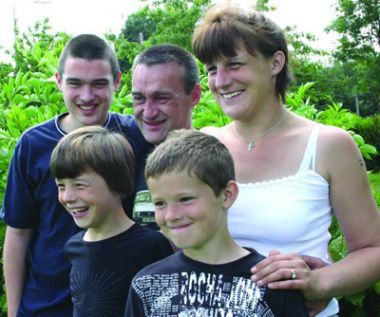 The Foster family, who were helped out of debt by Christians Against ...