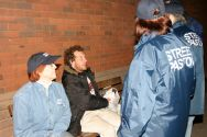 Street Pastors out in Enfield.